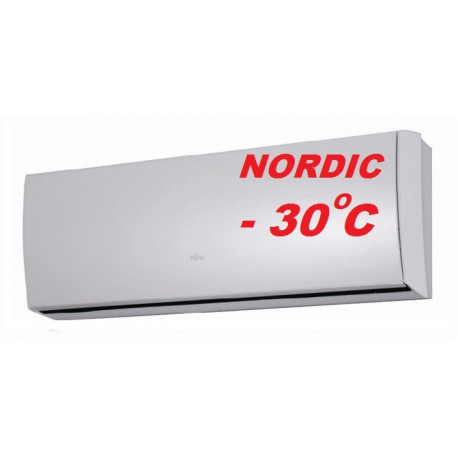 Климатик Fujitsu ASYG09LТCВ/AOYG09LТCВ NORDIC  до 25 кв.м