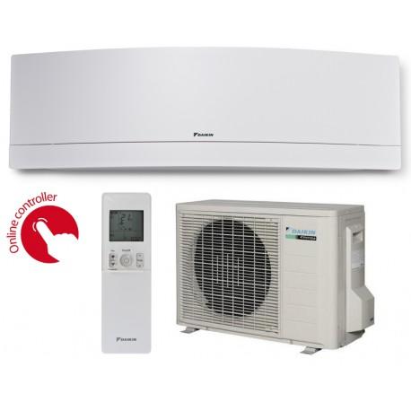 Инверторен климатик Daikin Emura FTXJ50MW/RXJ50M Бял до 45 кв.м R32