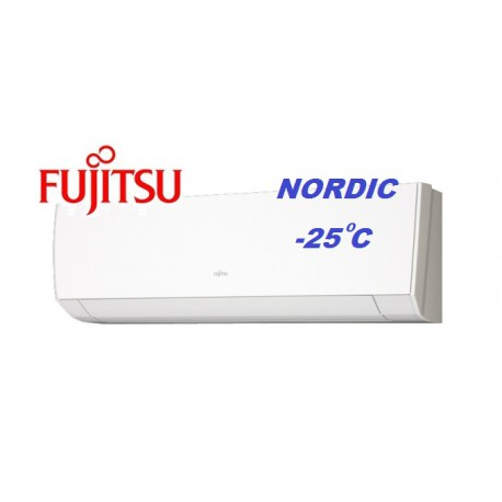 "Климатик Fujitsu ASYG12LMCB/AOYG12LMCB NORDIK -  25 "" C"