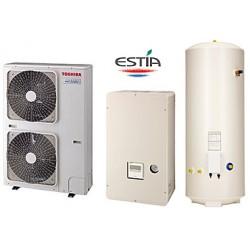 Термопомпа Toshiba Estia HWS-1403H8-E400V